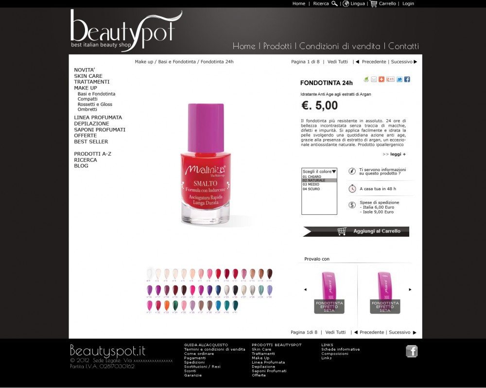 crfashion beautyspot layout web
