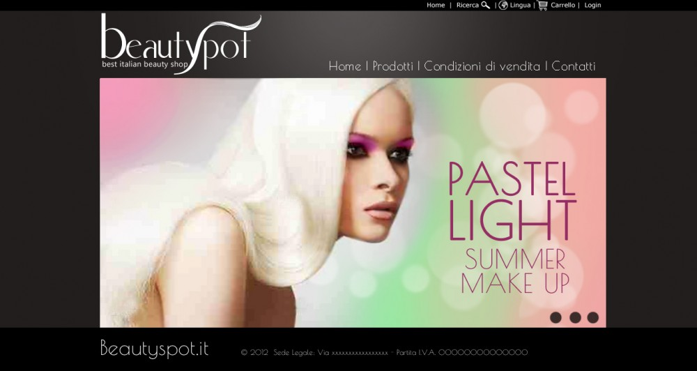 layout web beautyspot
